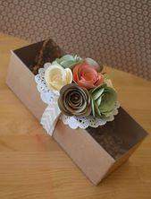 17 Moños de papel para decorar hermosos regalos