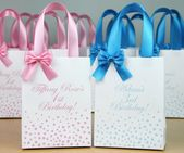 Bolsas de regalo de cumpleaños para los favores de la fiesta | Etsy