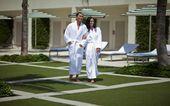gobrandspirit.com...  Kimono Collar Mini Stripe Bath Robe For Brand Marketing  #...