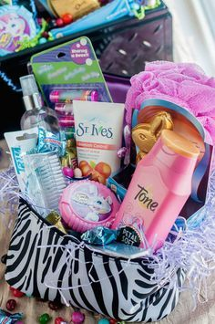 Teen Girl Easter Basket Idea
