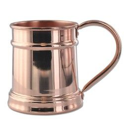 15 oz Custom Branded Copper Moscow Mule Stein Mug