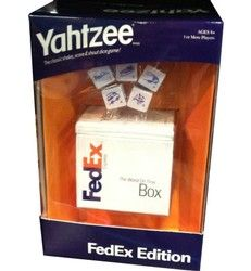 Custom Corporate Logo Yahtzee Game