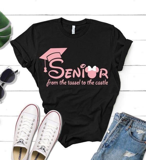 Disney Senior Year Trip Shirt Disney From Tassel to the | Etsy