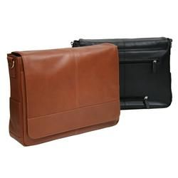 ROYCE LEATHER MESSENGER BAG