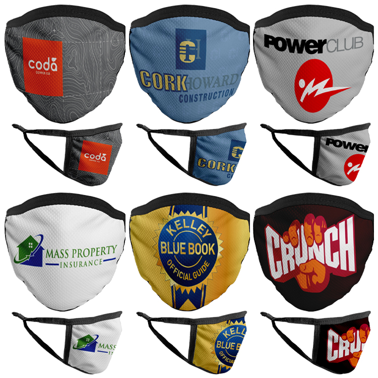 Multi-Feature Sublimated Face Mask