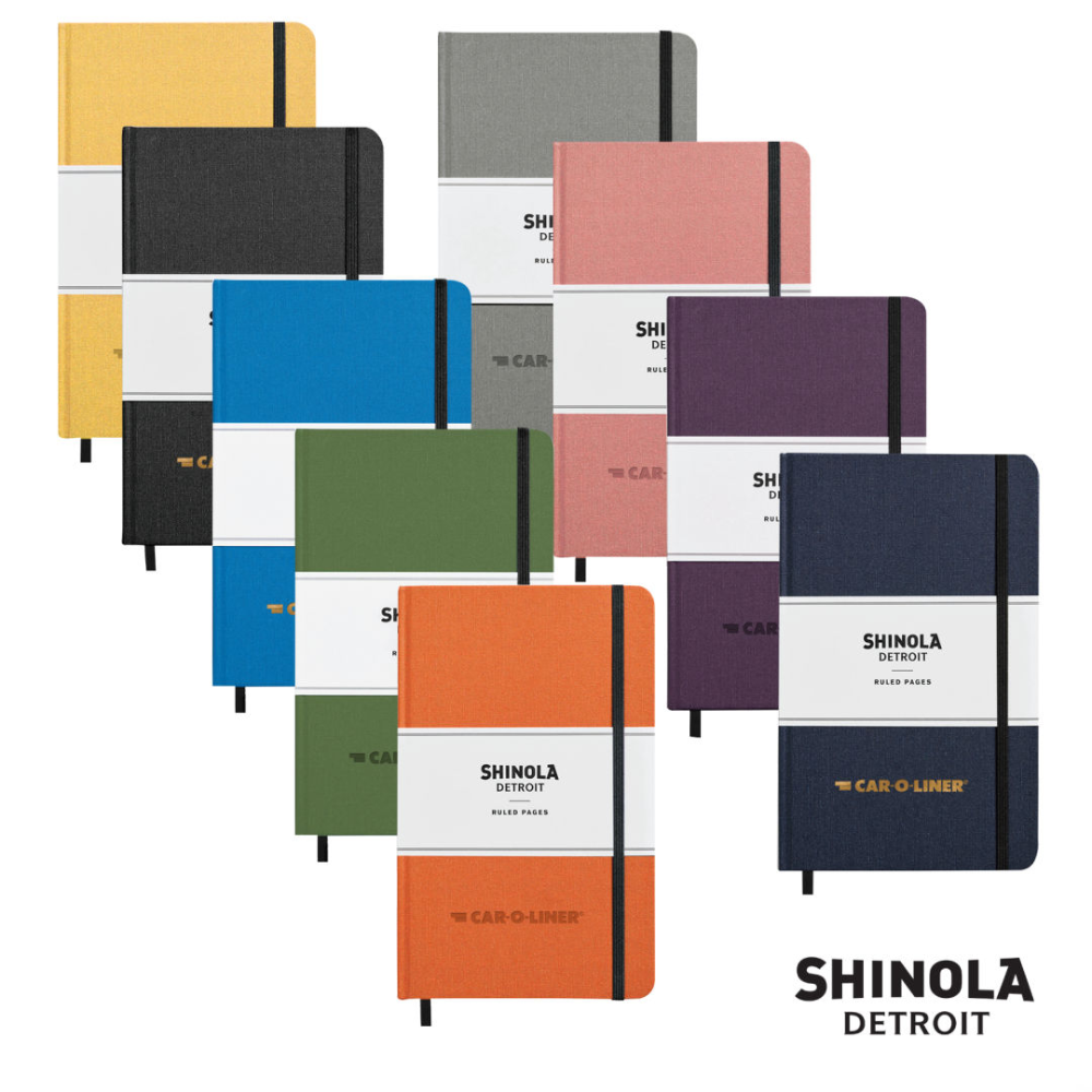 Shinola® HardCover Journal - Medium